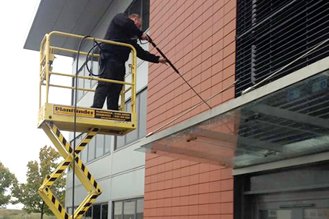 Pressure Cleaning Canopies