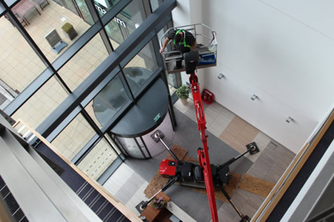 Interior window cleaning in Motherwell, East Kilbride and Hamilton